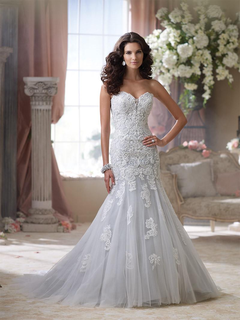 12 Wedding Dresses That Flirt With Color  Delaware Main Line Bride