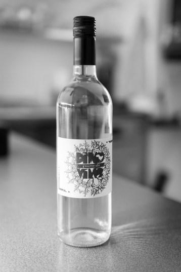 Gemischter Satz: ein hauseigener Wein. © Foto: Jakob Untner