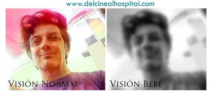 DEL CINE AL HOSPITAL Vamos a ver, ¿cómo es exactamente la visión de un bebé?