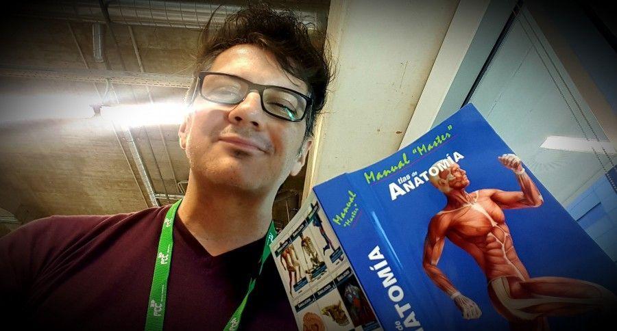 Primeras compras de un estudiante de primero de Medicina.