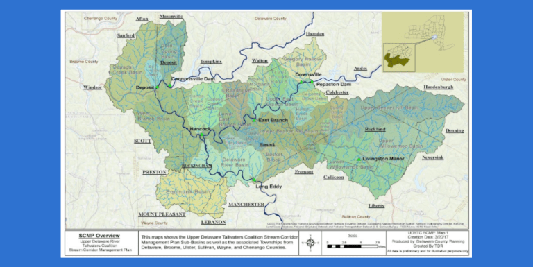 Notice – Upper Delaware River Tailwaters Stream Corridor Management Plan