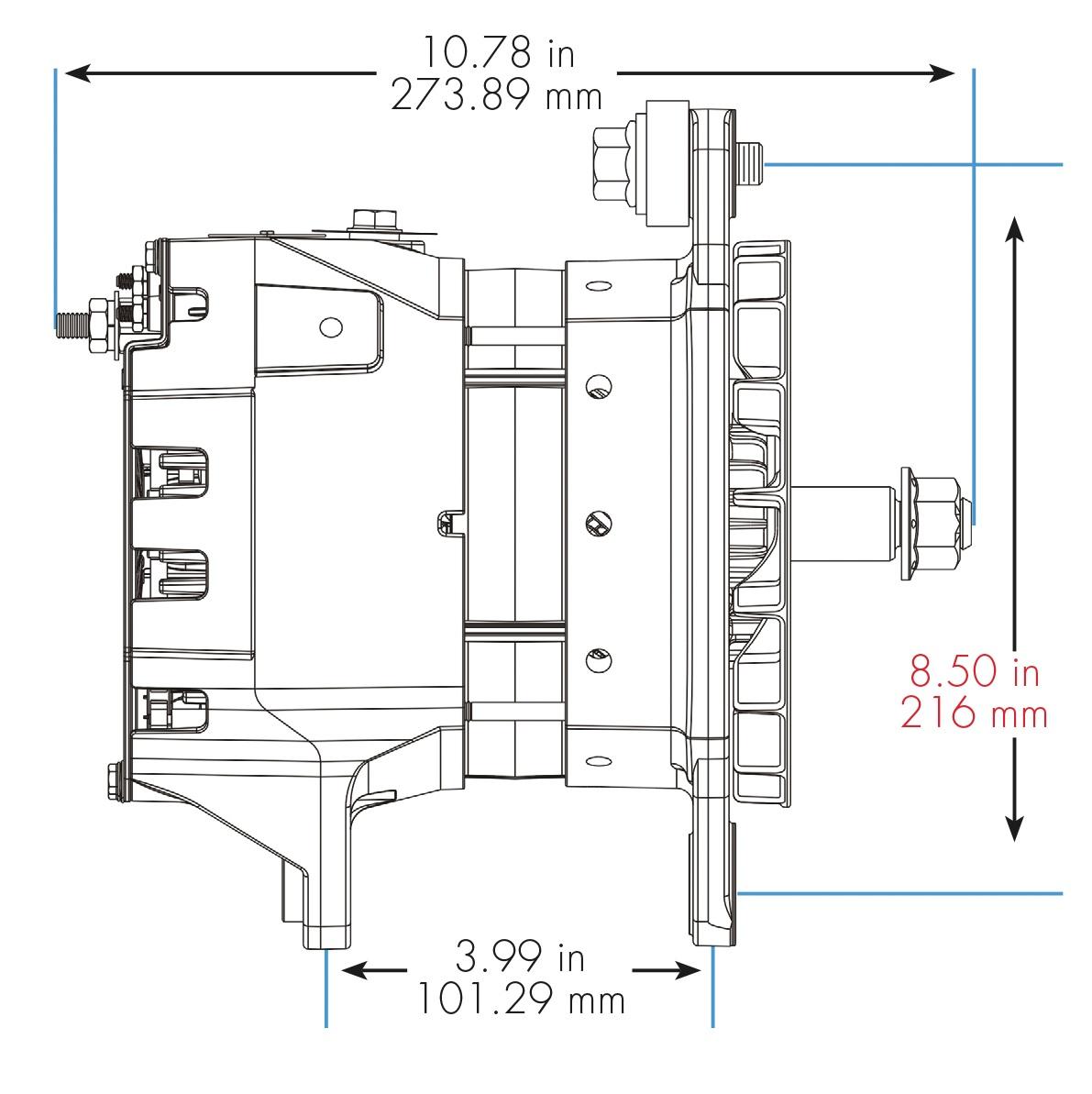 medium resolution of two wire acdelco alternator wiring schematic chevy 4 wire delco alternator farmall 706 wiring diagram