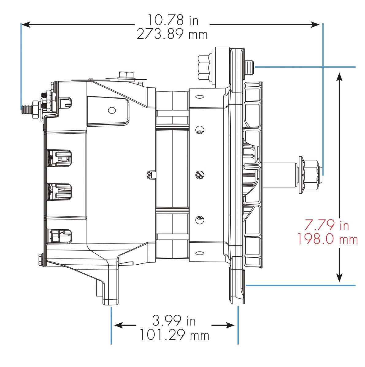 alternators by model family delco remy27si delco remy alternator wiring diagram 10 [ 1190 x 1194 Pixel ]