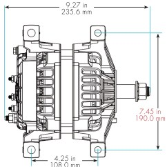 Delco Remy Alternator Wiring Diagram 4 Wire Light And Switch 35si