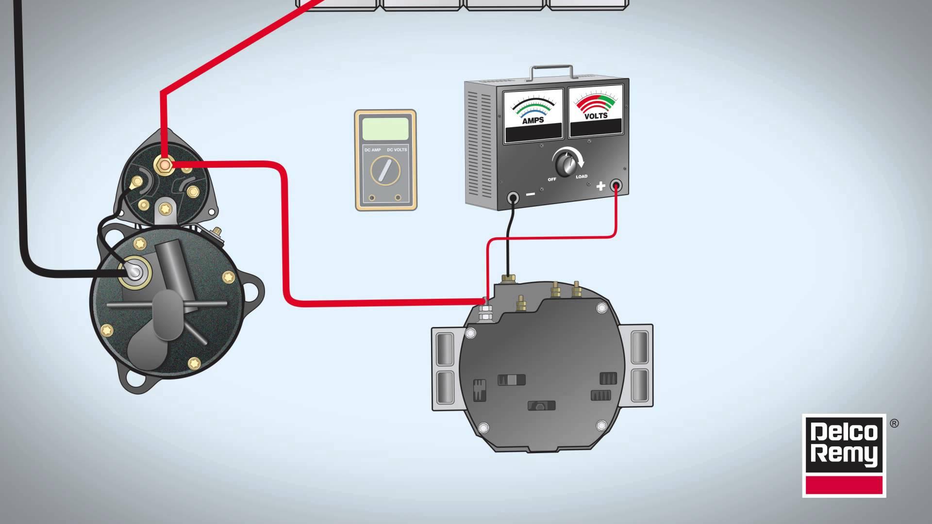 delco remy alternator diagram 2007 dodge caliber remote starter wiring tech tip videos