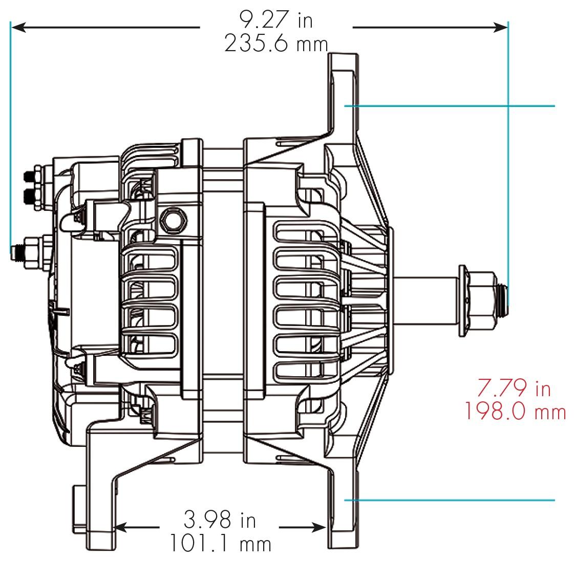delco cs alternator wiring diagram toyota yaris 2000 radio 1993 chevy