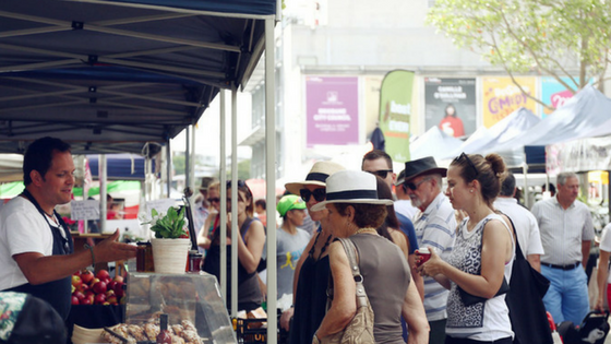 Things to do in Brisbane - Jan Powers Power House Farmers Markets