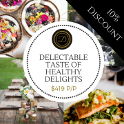 10% Discount For Rejuvenating Spring Foodie Experience