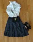 Webitor's Pick From Her Closet: Pleated Skirt from Jacob