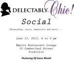 DelectablyChic! Social Ticket Giveaway