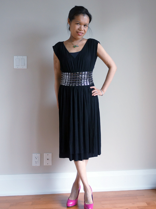 Lucian Matis black dress DelectablyChic! Social Outfit: What Should I Wear? (& Ticket Giveaway)
