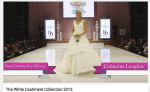 Here Comes the Cashmere Bride: Highlights from White Cashmere 2015