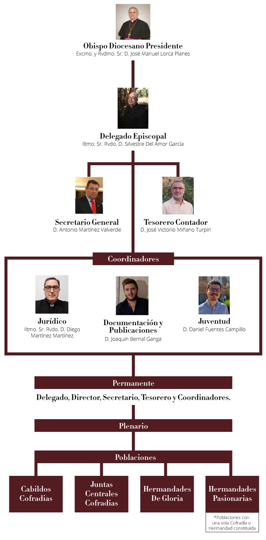Organigrama-delegacion-cofradias