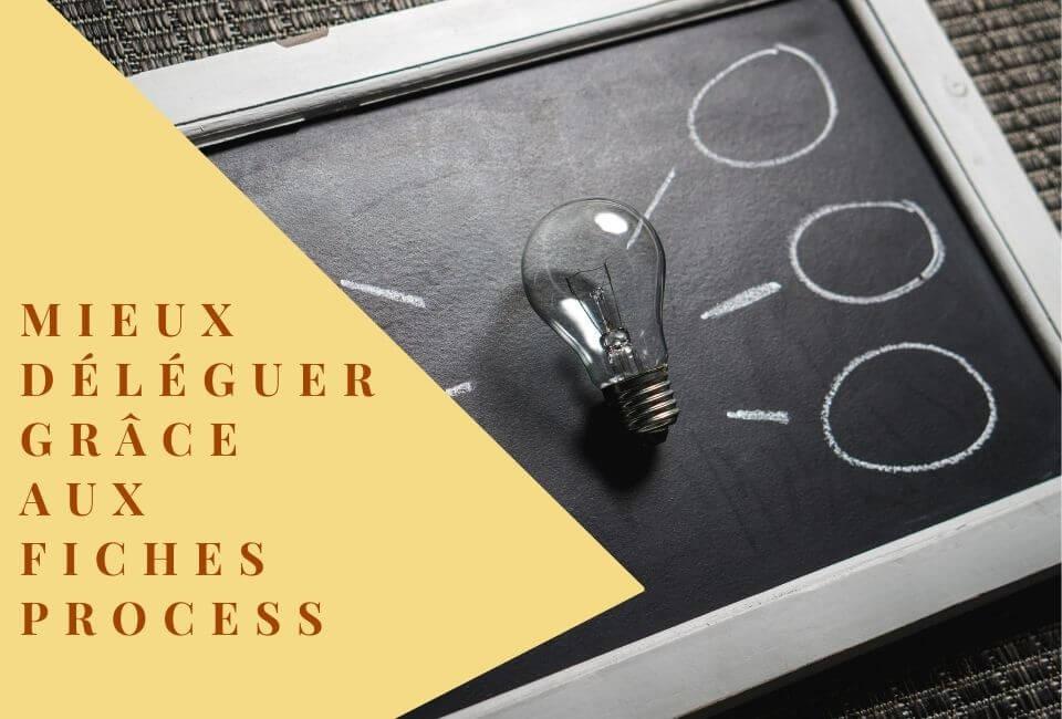 Comment déléguer efficacement avec des fiches process ?