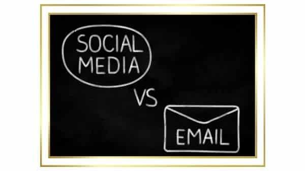 Email vs réseaux sociaux