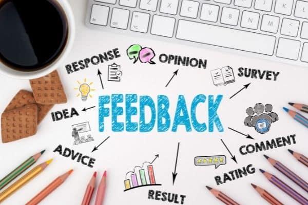 Donnez du feedback à votre assistante