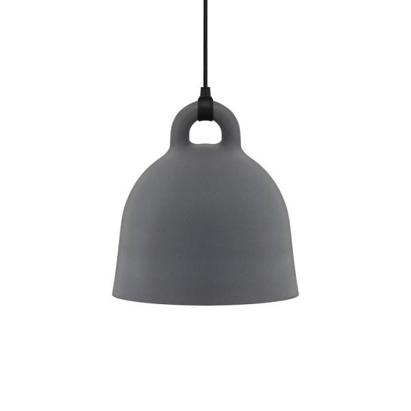 Lampara Bell de Normann Copenhagen acabado gris