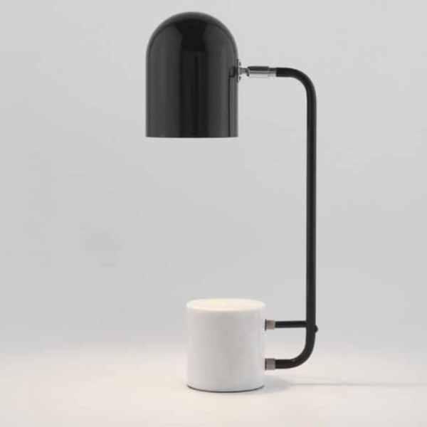 Lámpara de mesa Luca de Aromas del campo con pie de mármol