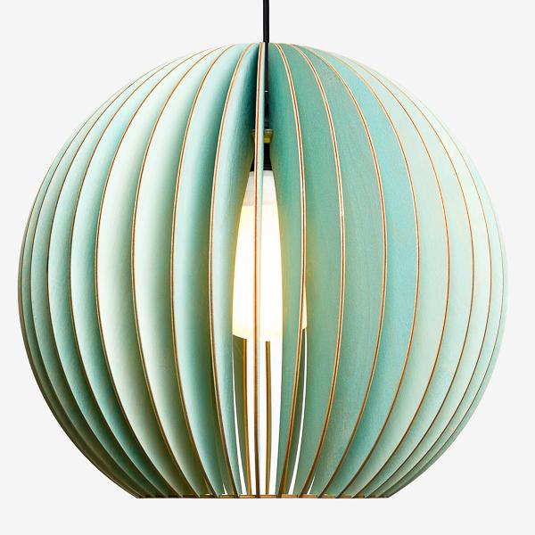 Lámpara Aion de Iumi azul