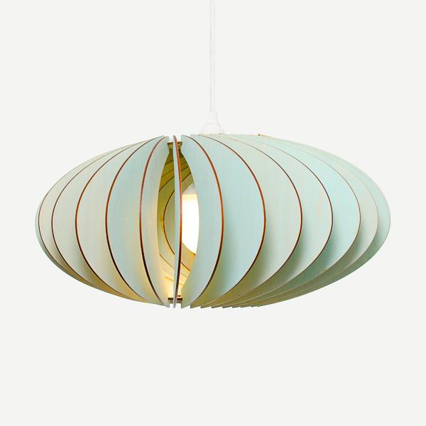 Lámpara Nefi de Iumi azul