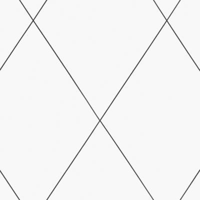 papel pintado de rombos blanco y negro de sandberg