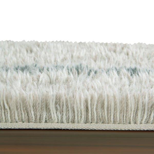 detalle Alfombra de lana lavable woolable Winter Calm de Lorena Canals