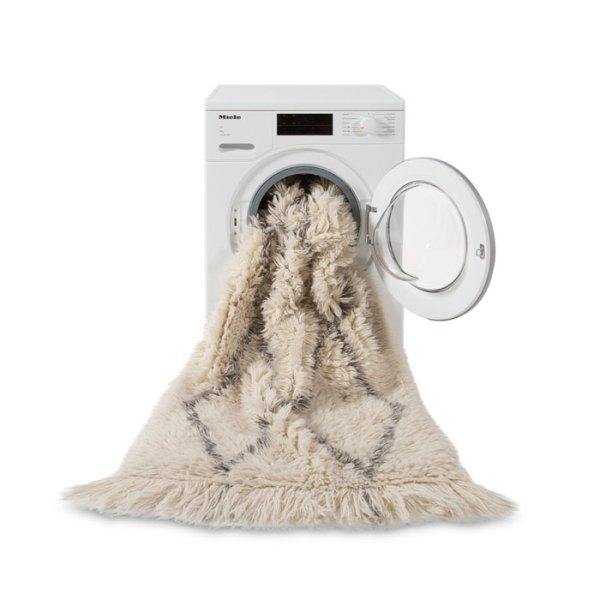 lavadora Alfombra de lana lavable Woolable Berber de Lorena Canals