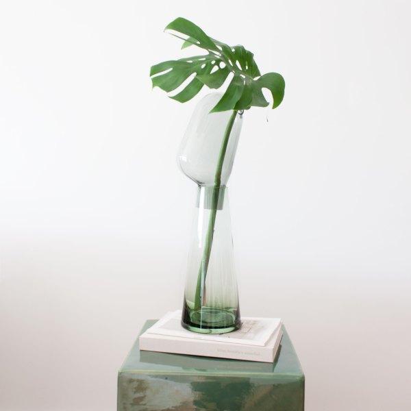 Ambiente jarrón Dual verde
