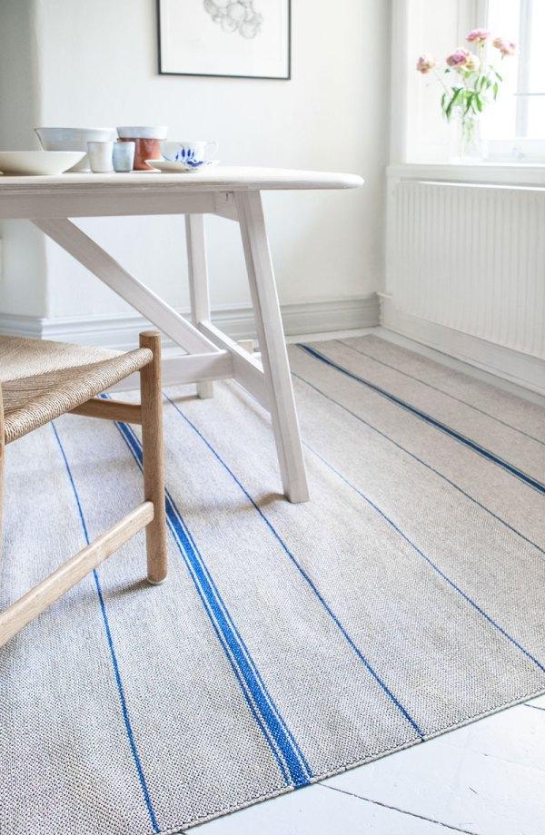 alfombra de plástico Trapezee Indigo de Brita Sweden