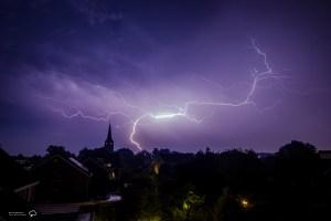 GC of negative lightning
