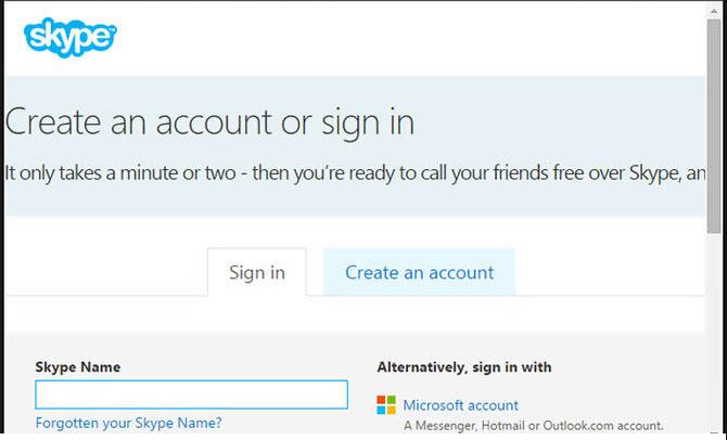 Delete Skype Account - www skype com