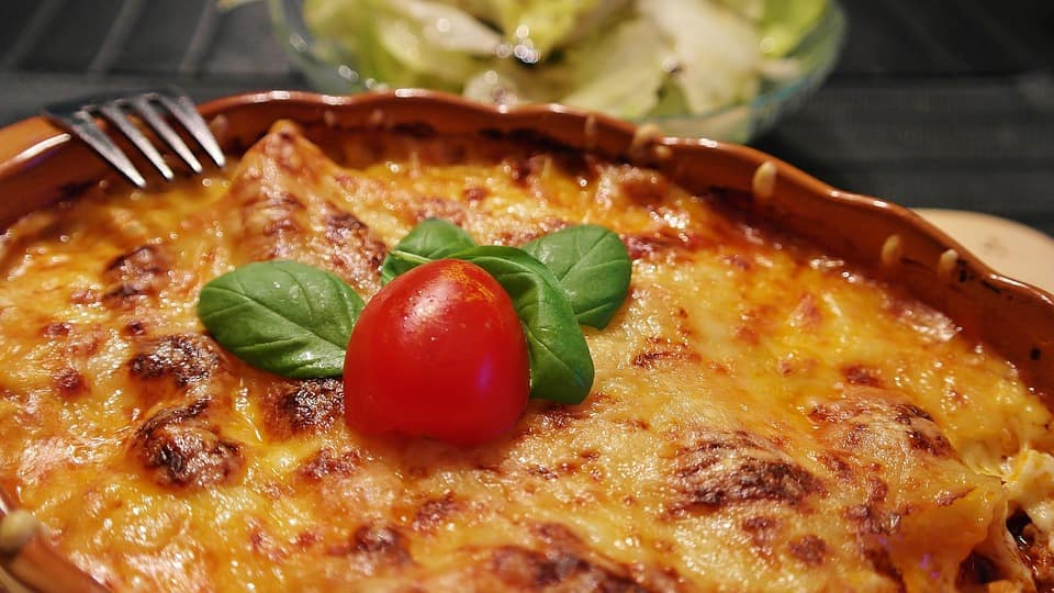 Cannelloni met spinazie