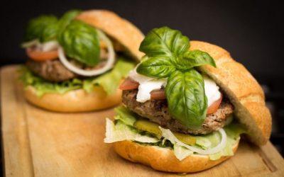 Een zwarte bonenburger, een super veggieburger!