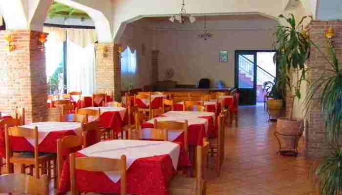 Delfini Breakfast Area