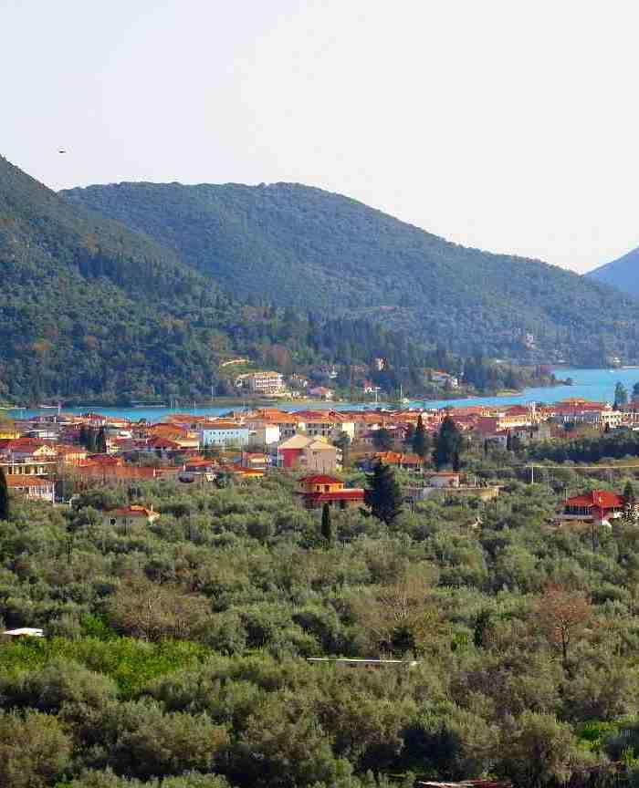The charming village of nidri