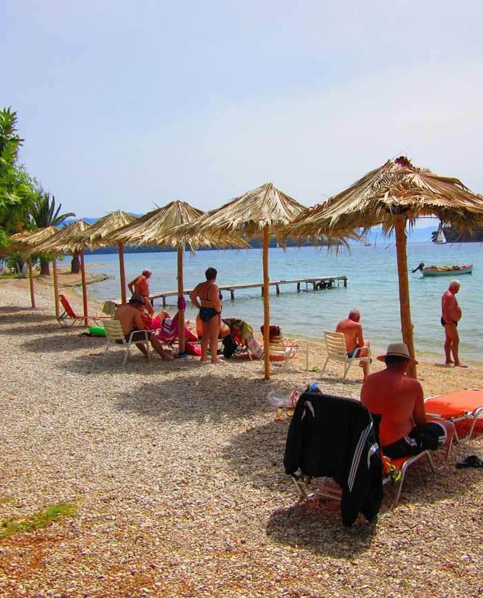 beach of delfini hotel