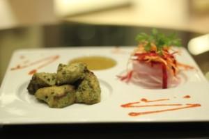 Murgh Galawat kebab.