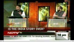 NDTV Big Fight invited DLA students