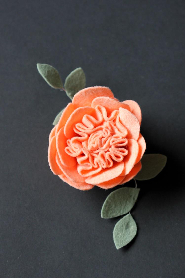 Felt Flowers Details  Clip Tutorial