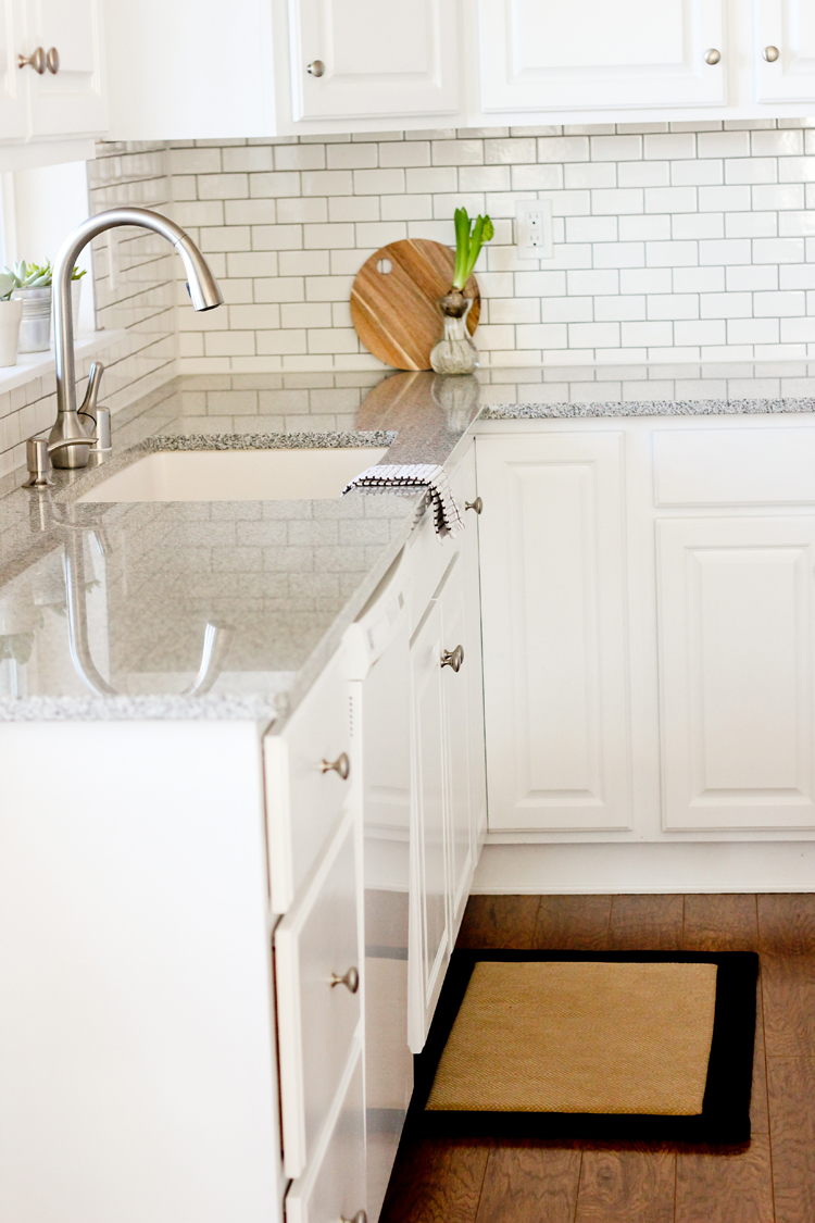paint kitchen cabinets white yellow rug renovation series painting our with chalk