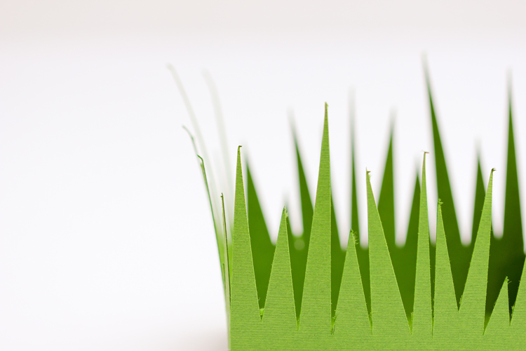 Grass Paper Boxes Free Cut Files