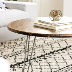 Small Kitchen Table With Bench Home Depot Carts Hairpin Leg Coffee Tutorial