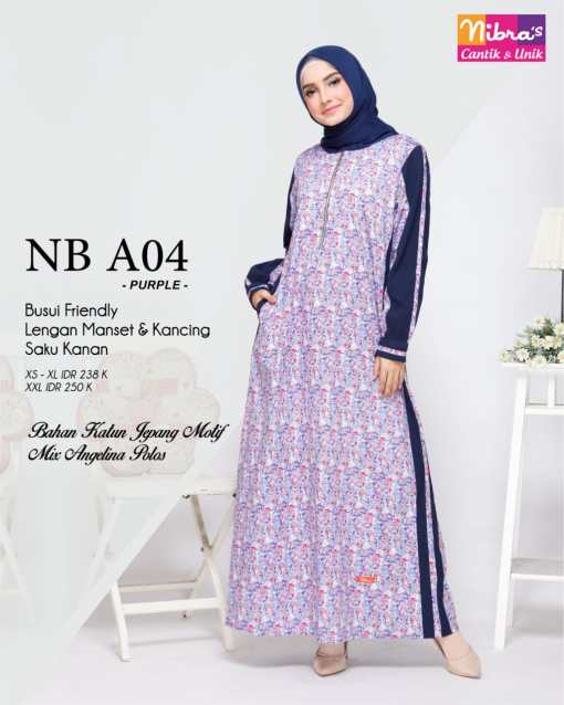 GAMIS NIBRAS NB A04 PURPLE