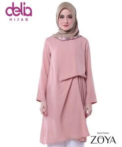Delia Hijab Sukabumi – Baju Muslim Sukabumi – Baju Gamis Modern – Baju Gamis Model Sekarang – Gamis Syari Modis – Baju Gamis Murah dan Cantik - Zoya Tunic - Wilona Tunic 259 P