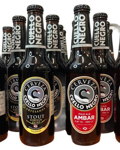 Cerveza Cuello Negro de Valdivia