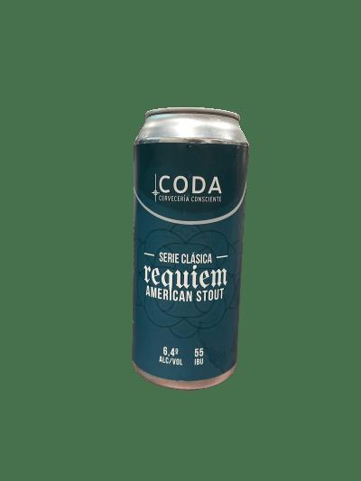Cerveza Artesanal Coda Stout