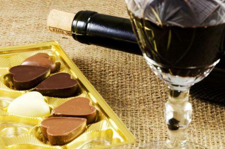 ciocolata si sampanie