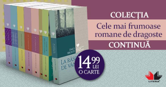 colectia cele mai frumoase romane de dragoste