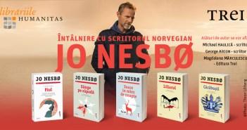 Celebrul scriitor norvegian Jo Nesbø vine în România!