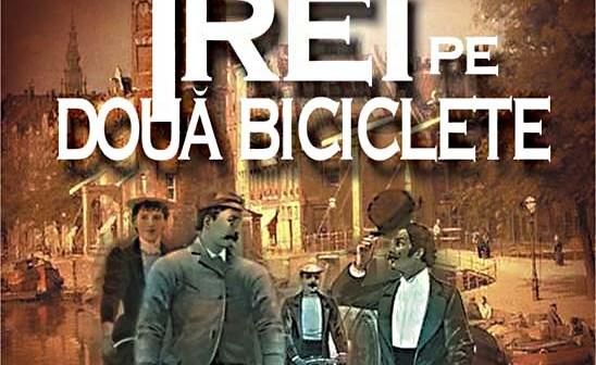 Trei pe două biciclete de Jerome K. Jerome, Editura MondoRo – recenzie